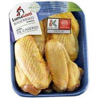 EUSKO Label LUMAGORRI Alas de pollo de caserío 450 g