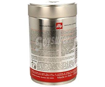 ILLY Café molido espresso de tueste medio 250 gramos