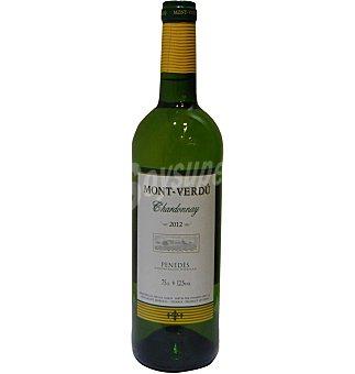 VINO Penedes mont-verdu chardonnay 75 CL