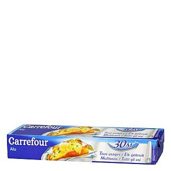Carrefour Papel aluminio Rollo de 30 metros