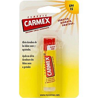 CARMEX lip bálsamo hidratante para labios SPF-15 blister 1 unidad