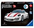 Puzzle 3d Porsche 91, 108 piezas, RAVENSBURGER.  Ravensburger