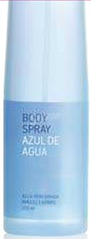 Deliplus Body spray azul de agua Botella 200 cc