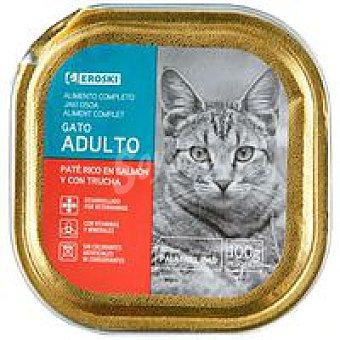 Eroski Paté de salmón para gatos 100g