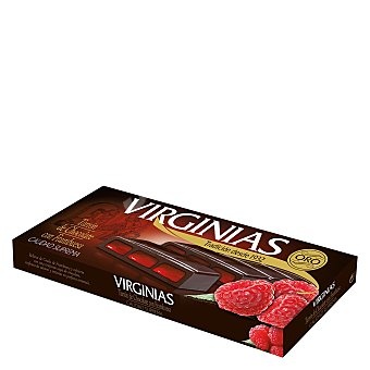 Virginias Turrón de Chocolate con Frambuesa Virginias 150g 150 gr