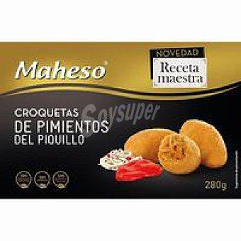Maheso Croquetas de piquillo-gulas Receta Maestra Caja 280 g