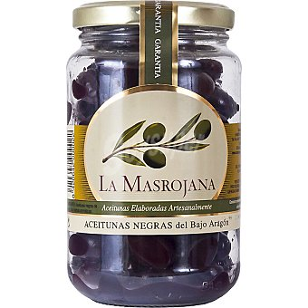 La Masrojana Aceitunas negras con hueso Tarro 220 g