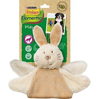 Purina Friskies Elementia juguete para perro conejo de peluche 1 unidad 1 unidad