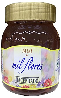 HACENDADO Miel mil flores Tarro de 500 g
