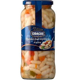 Cidacos Alubias con verduras 400 G