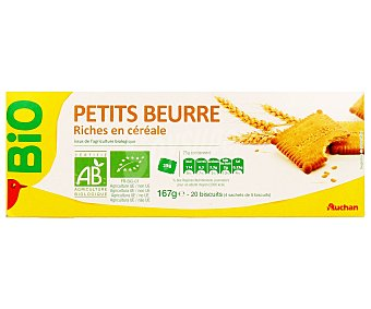 Auchan Galletas de mantequilla ecológicas 167 gr