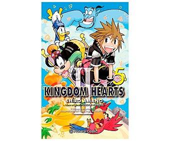 Planeta Kingdom Hearts II Nº 05, shiro amano. Género cómics. Editorial Planeta.