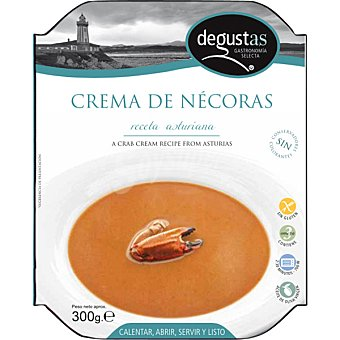 DEGUSTAS Crema de nécoras Bandeja 230 g