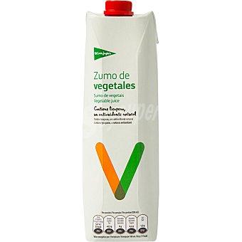 El Corte Inglés zumo de vegetales envase 1 l