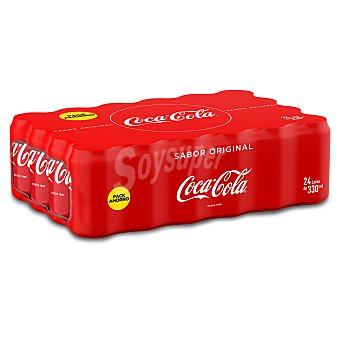 Coca-Cola Refresco de cola Pack 24 x 33 cl