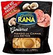 Gourmet ravioli relleno de carne asada con setas 2 raciones Envase 250 g Rana
