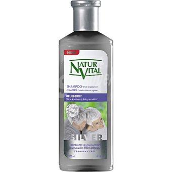 Natur Vital Champu Silver para cabellos blancos y grises frasco 300 ml Frasco 300 ml