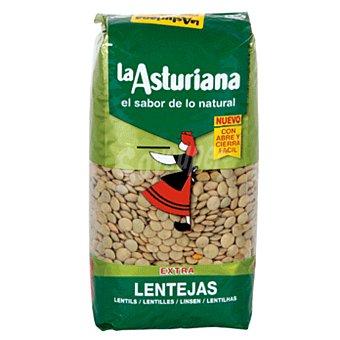 La Asturiana Lenteja castellana Paquete 500 gr