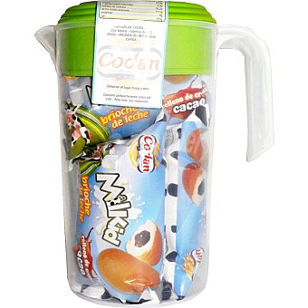 CODAN Milkid brioche de leche relleno de crema de cacao  envase 140 g