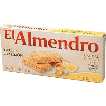 EL ALMENDRO turrón blando con limón Calidad Suprema tableta 150 g