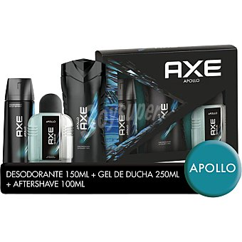 Axe Apollo con gel de baño + after shave + desodorante frasco 250 ml