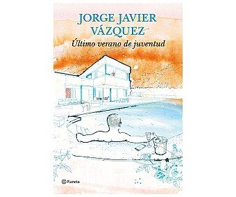 Narrativa Último verano de juventud, JORGE JAVIER VÁZQUEZ. Género: novela narrativa. Editorial Booket. Descuento ya incluido en PVP. PVP anterior:
