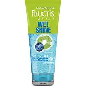 Fructis Garnier Gel efecto mojado Wet Shine 3 Tubo 150+100 ml
