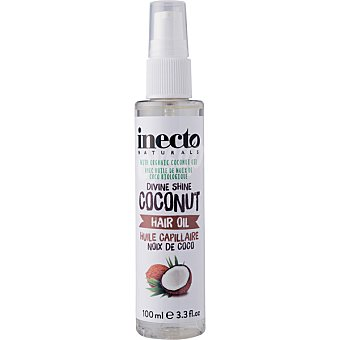 Inecto Aceite brillo capilar de coco spray 100 ml
