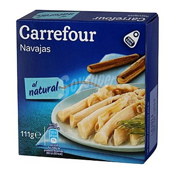 Carrefour Navajas chilenas Caja de 63 g