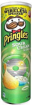 Pringles Patatas sour cream & onion Lata 190 g