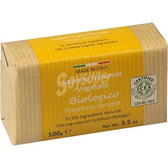 Iteritalia Jabón vegetal natural fragancia vainilla biológico pastilla 100 ml