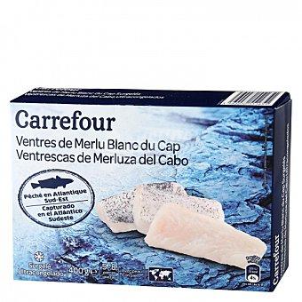 Carrefour Ventrescas merluza con piel Carrefour 400 g