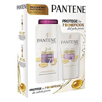 Pantene Pro-v Pack Antiedad BB7 (champú + serum 360 ml. y tratamiento rejuvenecedor) 1 ud