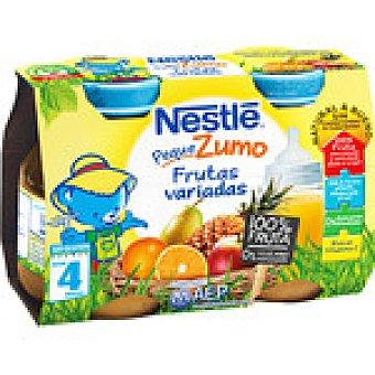 Nestlé zumo infantil frutas variadas  pack 2 envase 125 ml