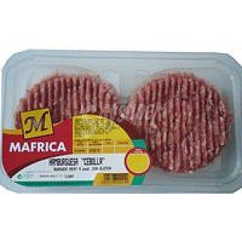 Mafrica Hamburguesa con cebolla 4 unid