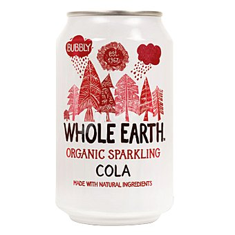 Whole earth Refresco de cola Bio sin azúcar 33 cl