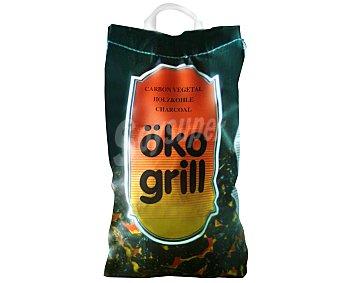 ÖKO GRILL Saco de carbón vegetal de 14 litros 2,8Kg