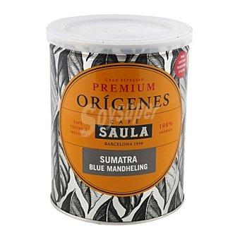 Saula Café molido natural premium origenes sumatra 250 g