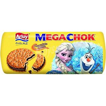 Arluy Megachok galletas rellenas de cacao diseños surtidos tubo 250 g Tubo 250 g