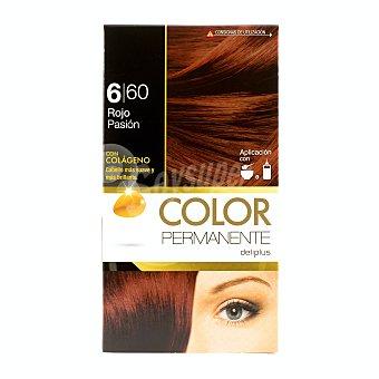 Deliplus Tinte coloracion permanente Nº 660 rojo pasion U