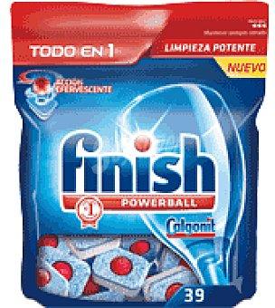 FINISH CALGONIT Lavavajillas maquina todo en 1 39 pastillas
