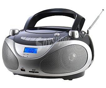 QILIVE Q1077 Radio CD con sintonizador de radio am/fm y conector USB