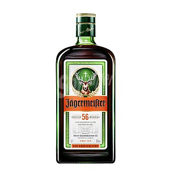 Jagermeister Licor de Hierbas Alemán Botella 70 cl