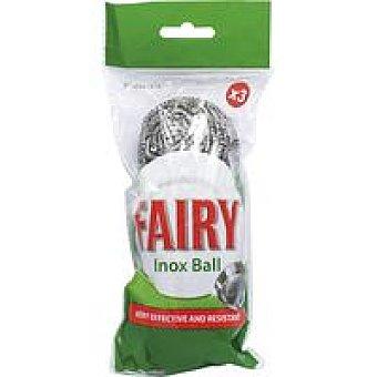 Fairy Bolas de acero inoxidable Pack 3 unid