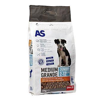 AS Alimento para perros para cachorros Bolsa 4 kg