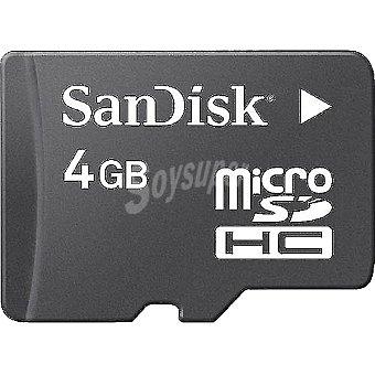 Sandisk Tarjeta de memoria Micro sdhc de 4 GB