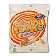 Barritas crujientes de barquillo cobertura blanca con relleno sabor nata tokke blanco Paquete 6 u Valor