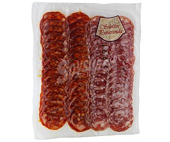 SELECTOS PEÑARANDA Chorizo y salchichón ibéricos, cortados en lonchas 2 x 80 g