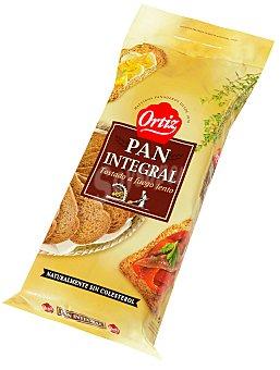 Ortiz Pan tostado integral Paquete de 720 g