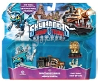 SKYLANDERS Pack de 3 Figuras Trap Team Adventure 1 Unidad